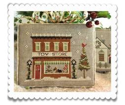 Toy Store release #5 Hometown Holidays cross stitch Little House Needlew... - $5.40