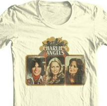 Charlie's Angels T-shirt 1970's retro style cotton graphic distressed tee CA100 image 2
