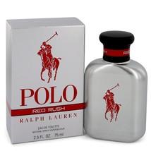 Polo Red Rush by Ralph Lauren Eau De Toilette Spray 2.5 oz for Men - $79.95