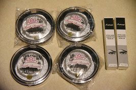 False eyelashes lot of 4 packages with 2 FREE eyelash growth serums!! NEW - $12.99