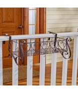 The Lakeside Collection Large Decorative Rail Planter - $26.23