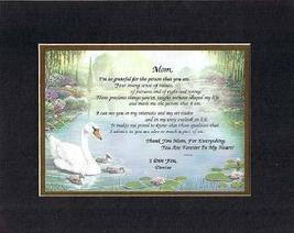 Personalized Touching and Heartfelt Poem for Mothers - Mom, I'm So Grateful For  - $22.72
