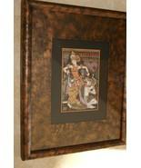 ORIGINAL FRAMED TRADITIONAL BALINESE UBUD ART MINUTE DETAIL INK PAINTING... - $94.99