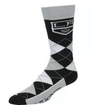 Los Angeles Kings For Bare Feet Argyle Crew Socks - $10.39