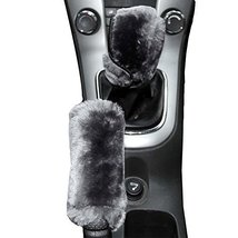 Stalls Automatic Plush Car Handbrake Sleeve Gears Sets Manual Gear Sets