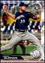 2019 Bowman #65 Corbin Burnes RC NM-MT Milwaukee Brewers  Officially Lic... - $1.25