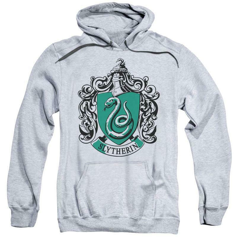 Harry Potter Slytherin House Snape Wizard J.K Rowling's Hogwarts Hoodie HP8040B