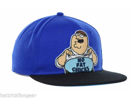 "BIO WORLD FAMILY GUY ""NO FAT CHICKS""  SNAPBACK CAP/HAT - OSFM"