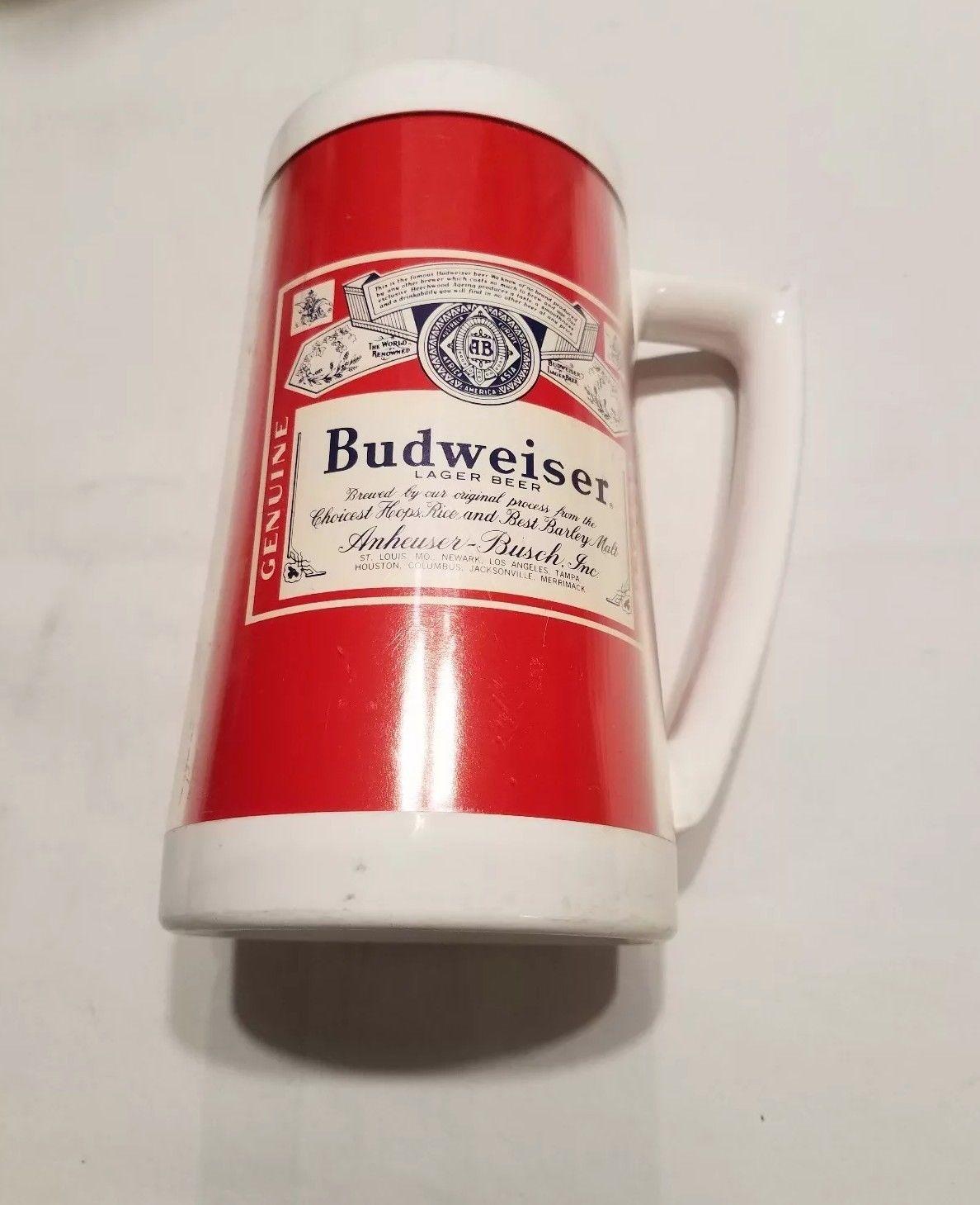 "Budweiser Bud Light 4 Sided 7.5/"" Shorty  Ceramic Tap Beer Handle Pub Keg"