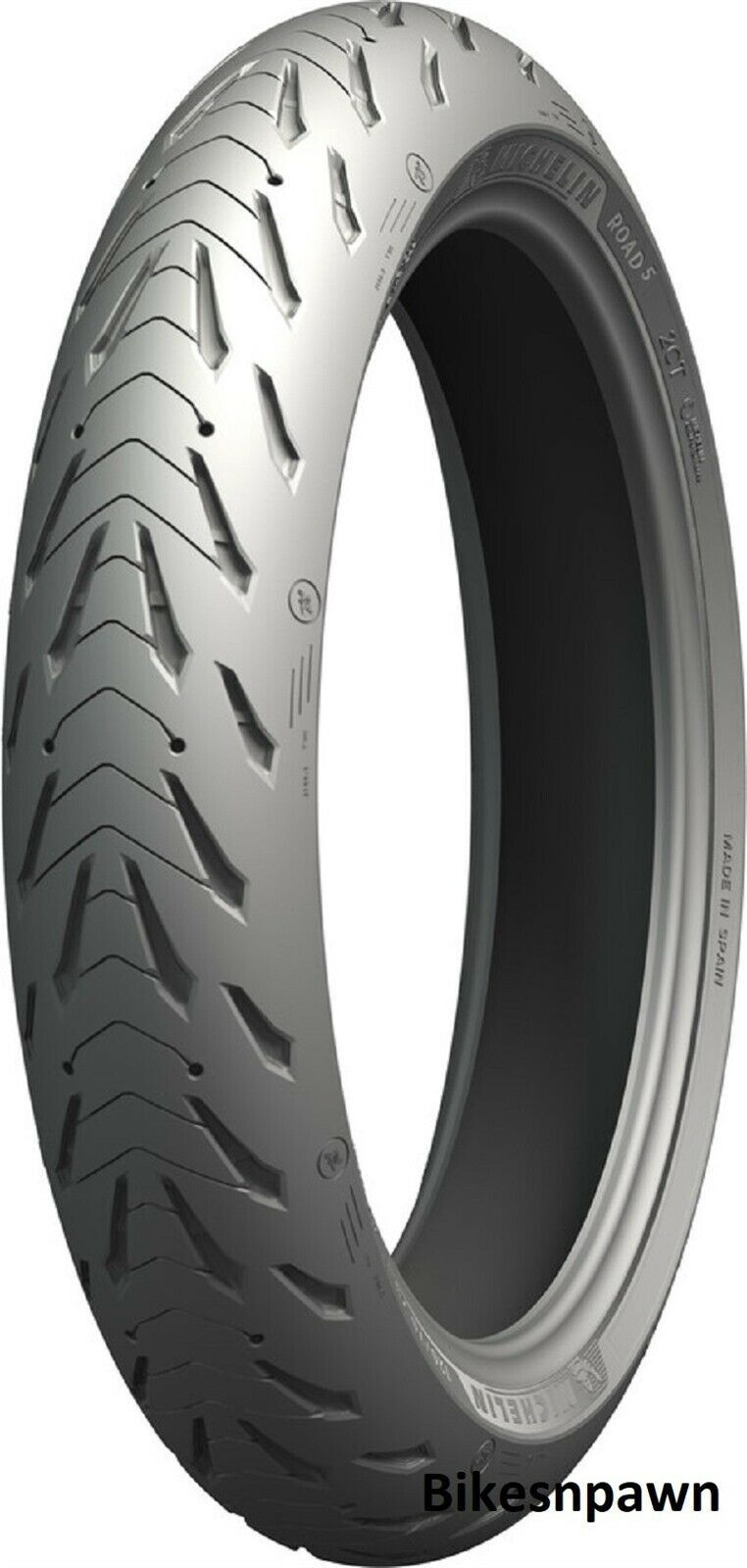 New Michelin Pilot Road 5 GT 120/70ZR17 Front Radial Motorcycle Tire 58W 81056