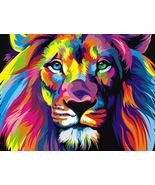 5D DIY Diamond Painting Lion Cross Stitch Full Diamond Embroidery Diamon... - $8.00+