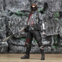 "Custom Marvel James Bucky Barnes Soldier 6"" Action Figure Unmasked White... - $30.98+"