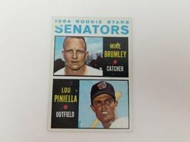 1964 Topps Lou Piniella Baseball Card #167 Yankees Rookie Card VG FREE S... - $14.65