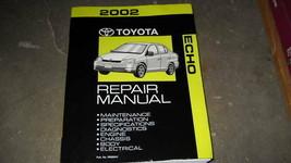 2002 TOYOTA ECHO Service Repair Workshop Shop Manual OEM Factory - $98.99