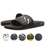 Hugo Boss Men's Graphic Rubber Slip On Beach Pool Solar Slides Sandals 5... - $59.39+