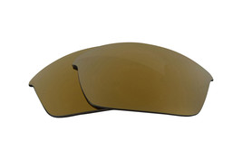Polarized Replacement Lenses for-Oakley Half Jacket 2.0 Frame Anti-Scratch Gold - $8.80