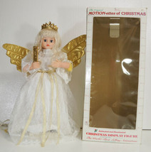TELCO MOTIONETTE Christmas ANGEL Animation & Lights in box 1990 GORGEOUS - $69.99