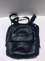 Vintage Leather Case Logic Walkman Case With Clipping Shoulder Strap Black  - $25.73
