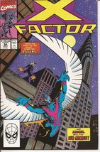 Marvel X Factor #56 Angel Ravens Mutant Action Adventure - $2.95