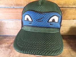Leonardo TMNT Teenage Mutant Ninja Turtles NEW Adjustable Kids Cap Hat - $9.89