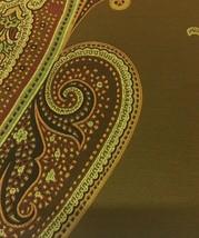 Maharam Upholstery Fabric Massive Paisley Chocolate 465915 1.125 yards QZ - $85.50