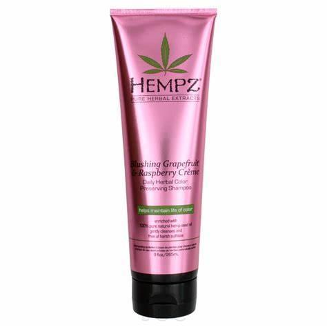 Hempz Grapefruit & Raspberry Creme Color Preserving Shampoo, 9oz