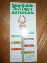 Vintage Your Guide To A Day's Adventure Bush Gardens Tampa Florid Brochu... - $5.99