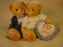Cherished Teddie.......... A Decade Of Teddy Bear Love - $21.09