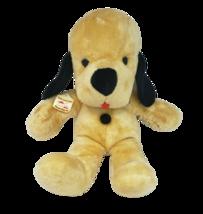 "18"" VINTAGE ANIMAL FAIR HENRY YELLOW PUPPY DOG STUFFED ANIMAL PLUSH TOY ... - $223.47"