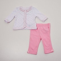 Baby Girls 0-3 Months Pink Baby Headquarters 2pc. Pants Set - $11.99