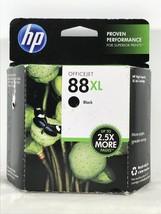 Genuine HP OfficeJet 88XL Black Ink Cartridge Exp Nov 2013 - $15.79