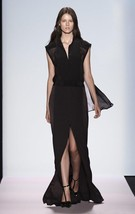 AUthentic New Runaway Bcbg Maxazria Silk Zofie Dress in Black $648 - $119.00