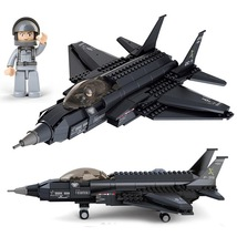 War Jet Airplane Military Army Soldier Etc Fit Lego War Building Block T... - $36.99
