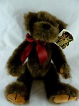 """Unipak Jointed Teddy Bear Plush 10"""" Aunt Ginnie's Antigue bear collectio... - $10.29"""