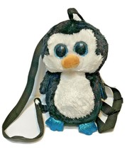 """TY Fashion 13"""" Waddles Penguin Flippy Color Changing Sequin Backpack Heart Tags - $16.56"""