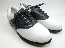 NIKE White Leather Golf Airliner Shoes Womens Size 7 Eur 38 - $11.63