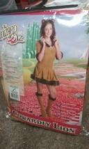 Cowardly Lion Wizard of Oz Jungle Animal sz M 2-4 Halloween Deluxe Teen Costume - $46.51