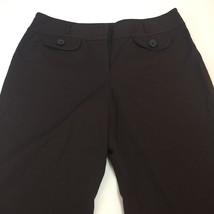 """Ann Taylor Loft  Brown """"Marisa"""" Cropped Pants Women's Size 8 - $16.30"""