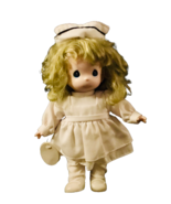 Precious Moments 2nd Edition Golden Hair Nurse Lucy Collectible Doll - $29.70