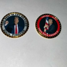 Trump Farewell  2024 Best is yet to come MAGA Forever  Roped Edge Coin - $12.07