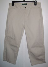 LRL LAUREN JEANS CO Khaki Capris Women's Size 6 (31 x 21)) - $10.99