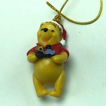 WINNIE POOH CHRISTMAS ORNAMENT Walt Disney figurine friend miniature toy... - $11.83