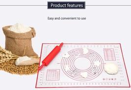 Cakes Bakeware Heat Resistance Mat Paste Flour Table Pad Kitchen Cooking... - £10.00 GBP