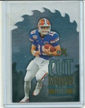2012 FLEER RETRO METAL CUT ABOVE #8 TIM TEBOW FLORIDA METS FREE SHIPPING  - $19.99