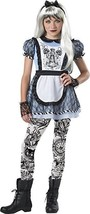 Incharacter Malice In Wonderland Alice Storybook Tween Halloween Costume 18094 - $27.59+