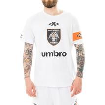 T-SHIRT UOMO OMC X UMBRO FOOTBALL LEADER T04LEADER COLLABORATION CREWNEC... - $111.19