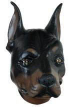 Doberman Pincher Dog Mask Adult Animal Realistic Latex Halloween TB26619 - $49.99