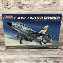 Monogram 1/72nd Scale F-105F Fighter Bomber Model Kit  #5438 Open Box - $34.60