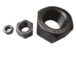 """10 Pcs of Hex Nut, Grade 5 Steel, RH, 1 1/8""""-7, 1 11/16"""" W x 31/32"""" H - $71.28"""