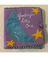 Soft Cloth Baby Book Goodnight Little One Purple by Sandra Magsamen Frog... - $4.99